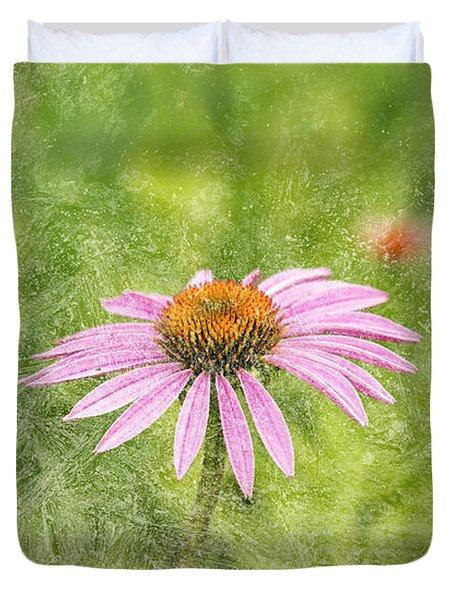 Artistic Cone Flower 2013-1 Duvet Cover