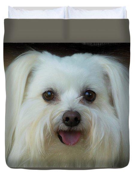 Artistic Puppy Duvet Cover
