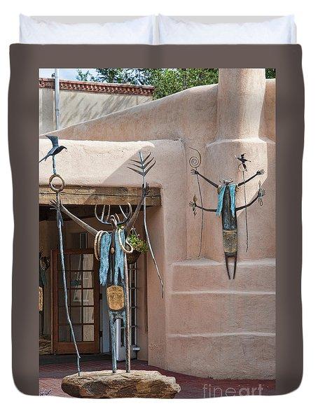Artistic Santa Fe Duvet Cover