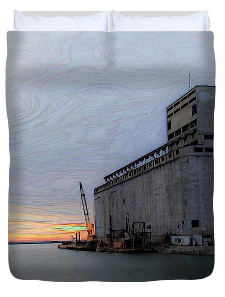 Artistic Sunset Duvet Cover