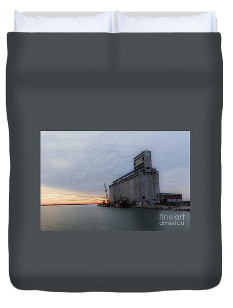 Artistic Sunset Duvet Cover