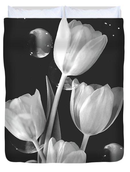 Artistic Tulip Bouquet 2  Duvet Cover