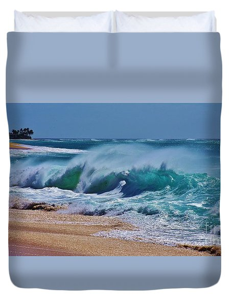 Artistic Wave Duvet Cover by Craig Wood