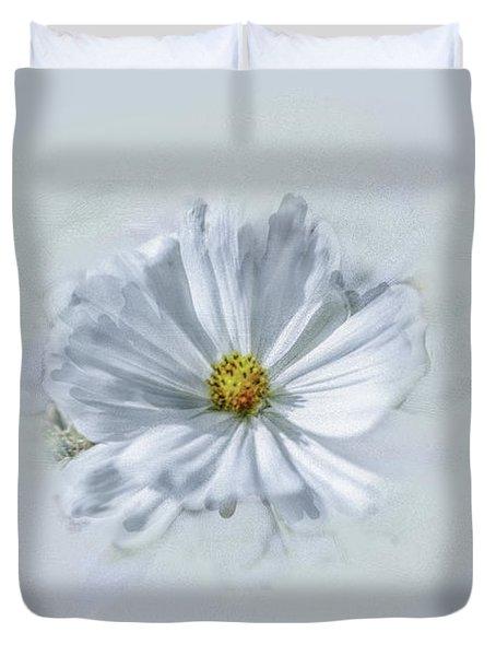 Artistic White #g1 Duvet Cover