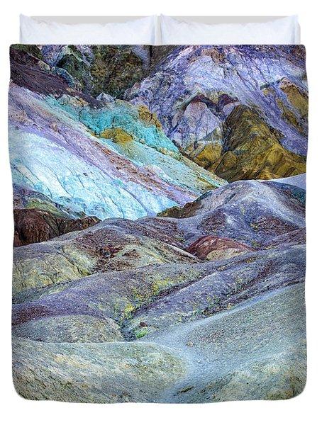 Artist's Palette Duvet Cover