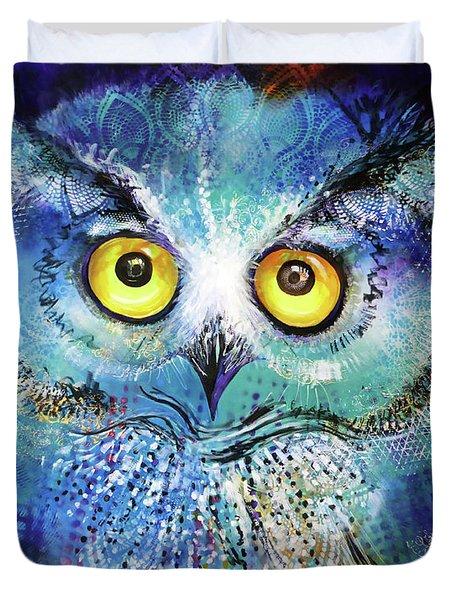 Artprize #2 Baby Blue Duvet Cover