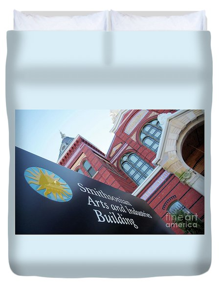 Arts And Industry Museum  Duvet Cover