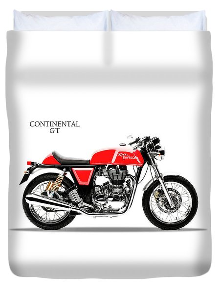 Royal Enfield Continental Gt Duvet Cover