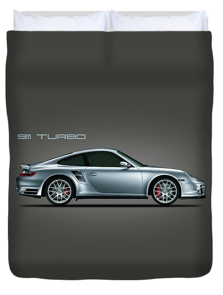 Porsche 911 Turbo Duvet Cover