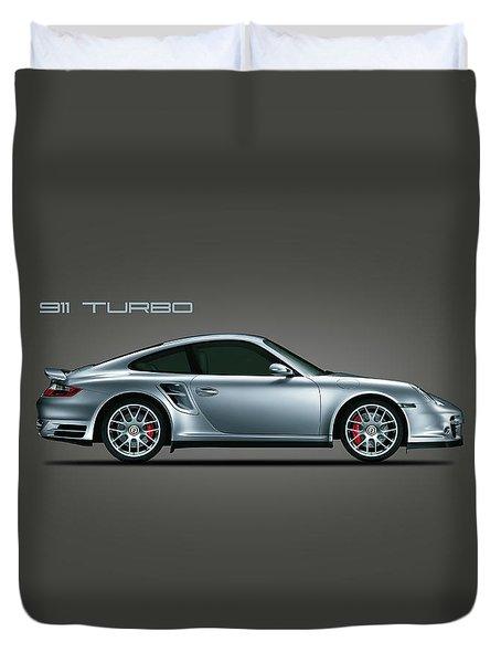 Porsche 911 Turbo Duvet Cover