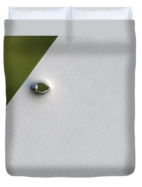 Bullet Hole Eye Duvet Cover