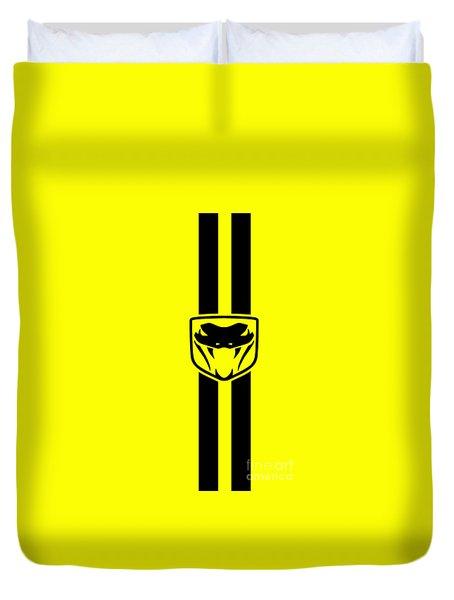 Dodge Viper Yellow Phone Case Duvet Cover by Mark Rogan