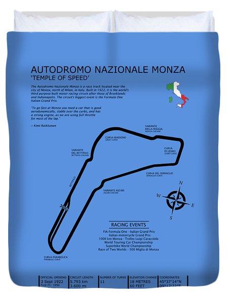Autodromo Nazionale Monza Duvet Cover by Mark Rogan