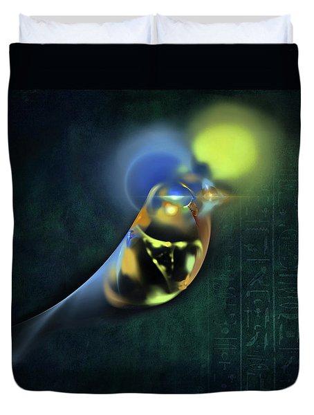 Horus Egyptian God Of The Sky Duvet Cover