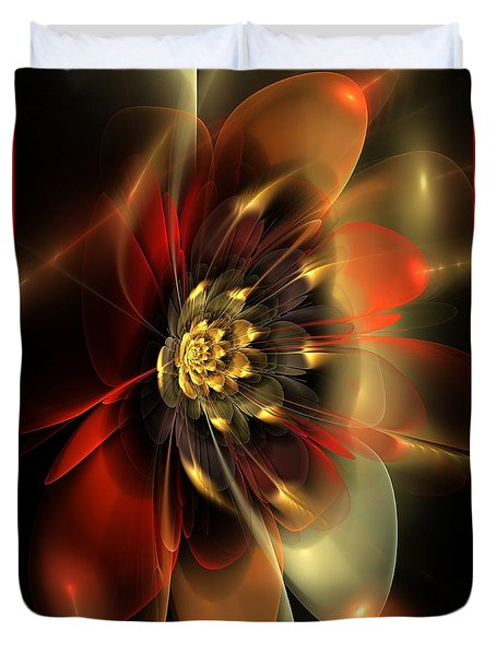 Passion Duvet Cover by Svetlana Nikolova