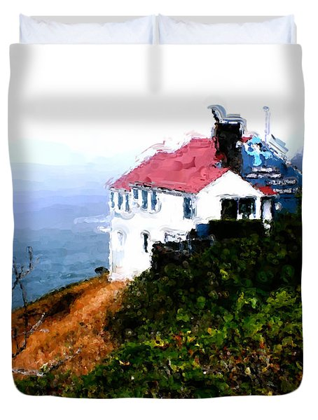 Cape Foulweather Duvet Cover by Methune Hively