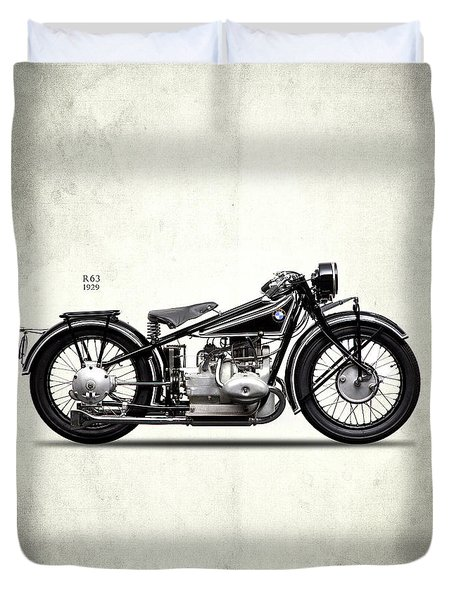 Bmw R63 1929 Duvet Cover by Mark Rogan