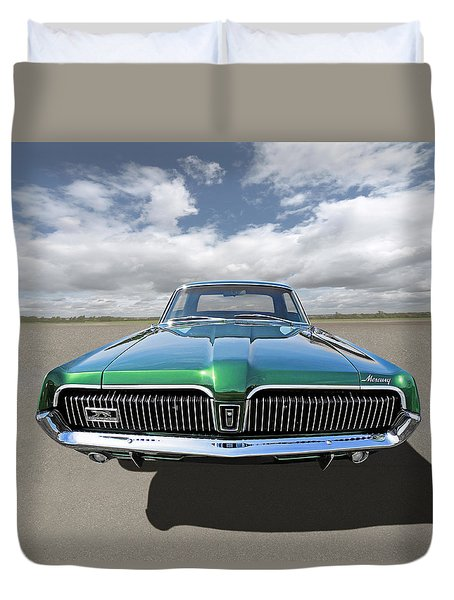 Green With Envy - 68 Mercury Duvet Cover
