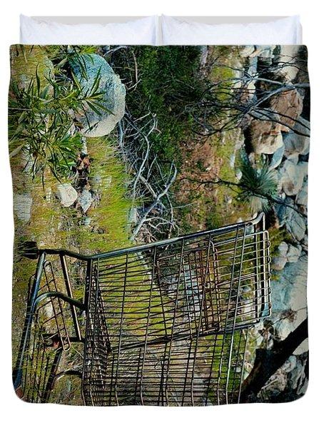 Boulder Market Duvet Cover