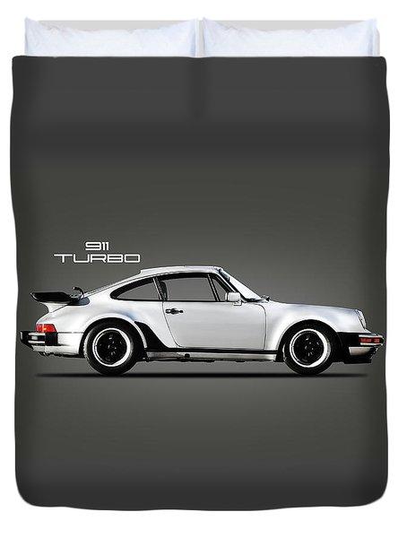 The 911 Turbo 1984 Duvet Cover