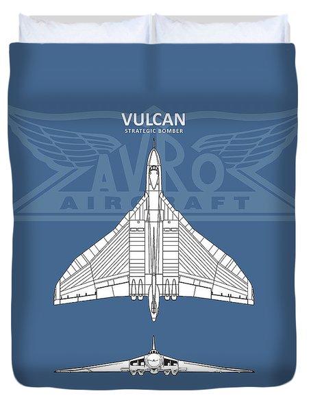 The Avro Vulcan Duvet Cover