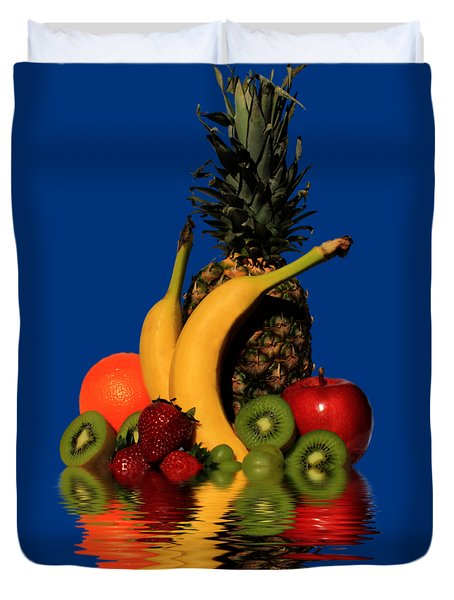 Fruity Reflections - Light Duvet Cover