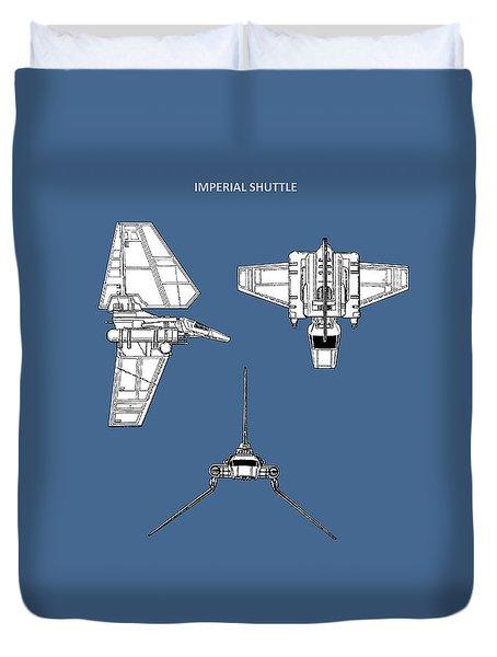 Star Wars - Shuttle Patent Duvet Cover