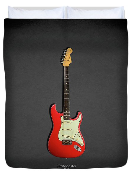 Fender Stratocaster 63 Duvet Cover