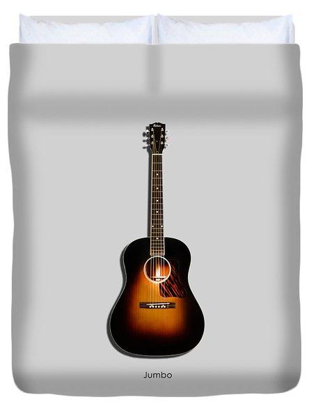 Gibson Original Jumbo 1934 Duvet Cover by Mark Rogan