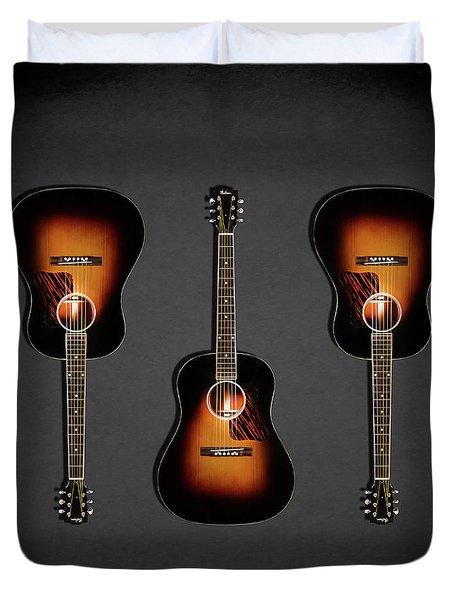 Gibson Original Jumbo 1934 Duvet Cover