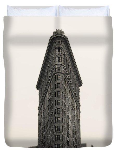 Flatiron Building - Nyc Duvet Cover