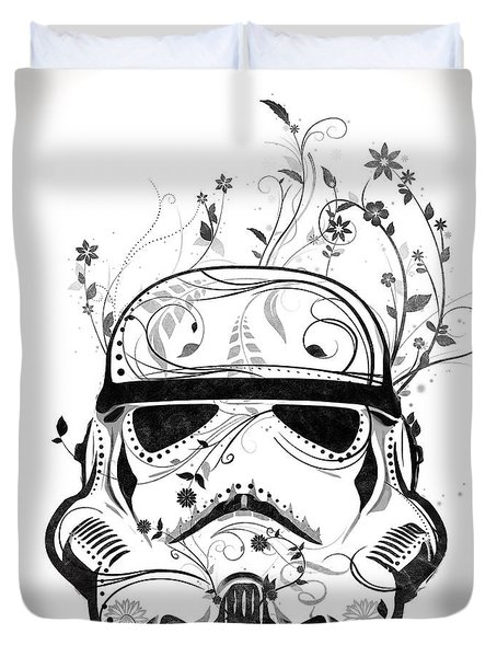 Flower Trooper Duvet Cover