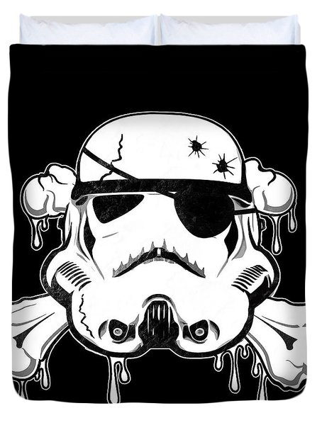 Pirate Trooper Duvet Cover