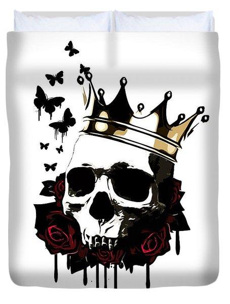 El Rey De La Muerte Duvet Cover