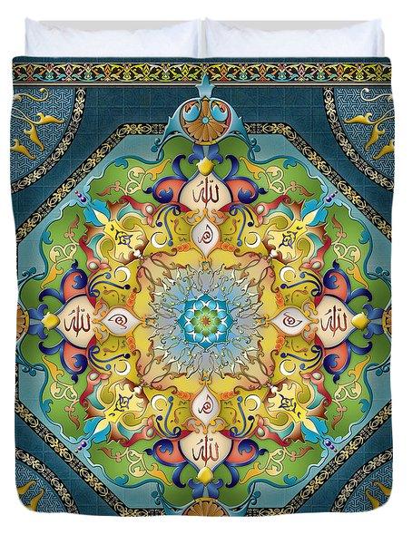 Mandala Arabesque Duvet Cover