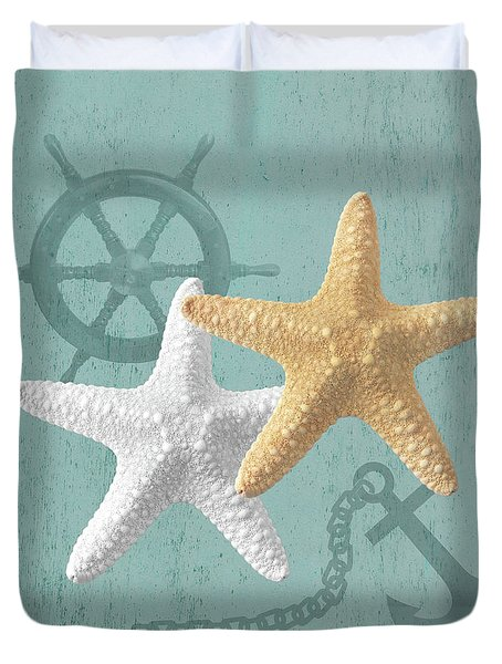 Nautical Stars Duvet Cover