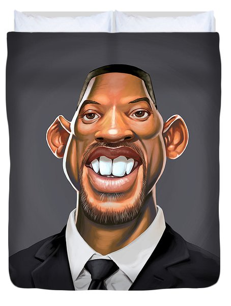 Celebrity Sunday - Will Smith Duvet Cover