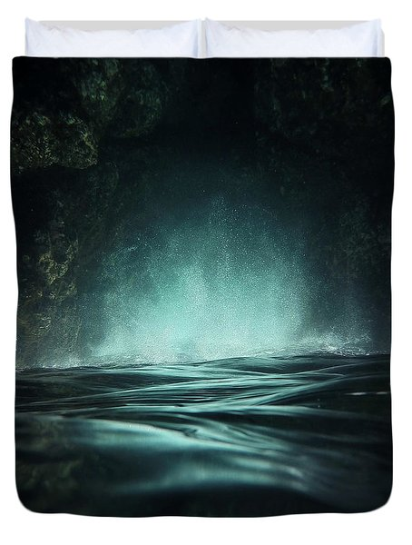 Surreal Sea Duvet Cover