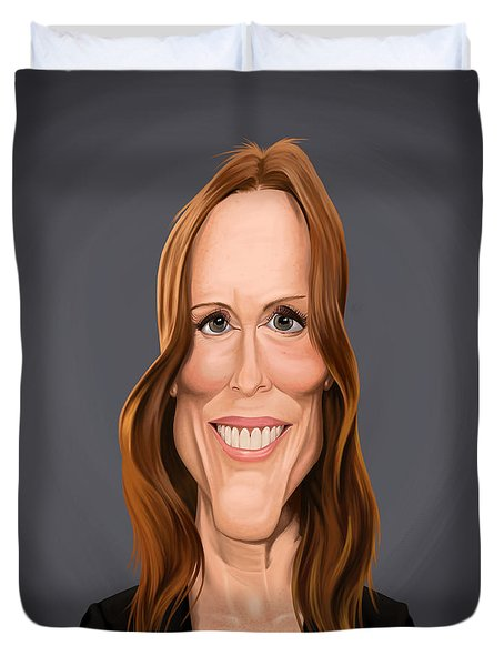 Celebrity Sunday - Julianne Moore Duvet Cover