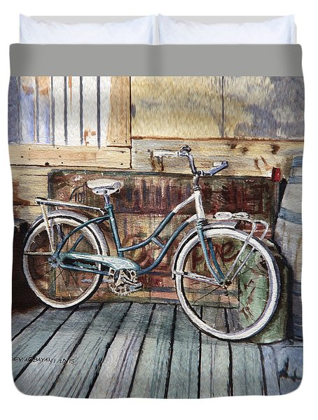 Roadmaster Bicycle Duvet Cover