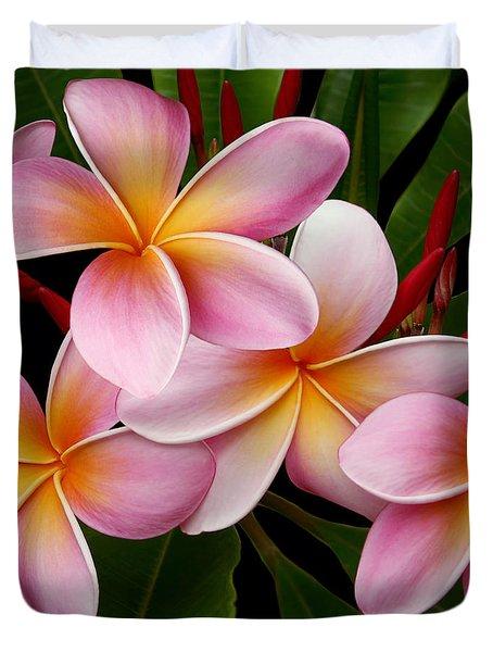 Duvet Cover featuring the photograph Wailua Sweet Love by Sharon Mau