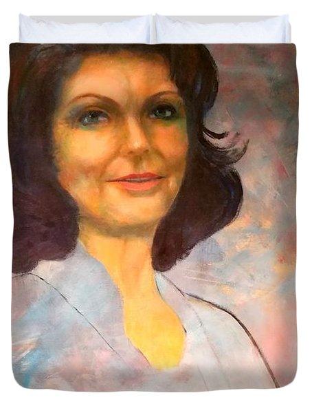 Selfportrait Duvet Cover