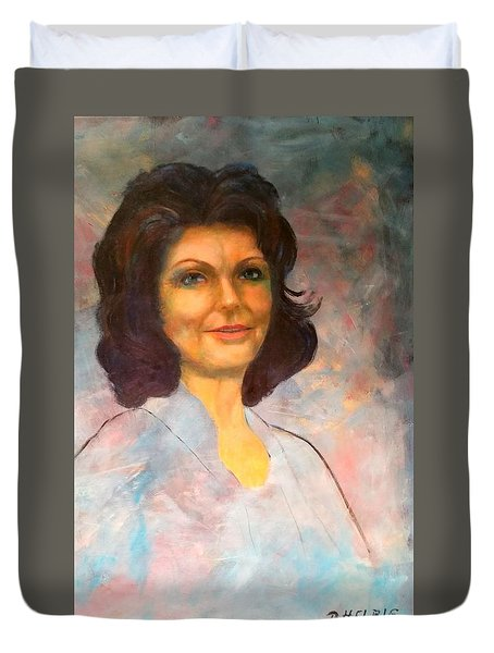Selfportrait Duvet Cover