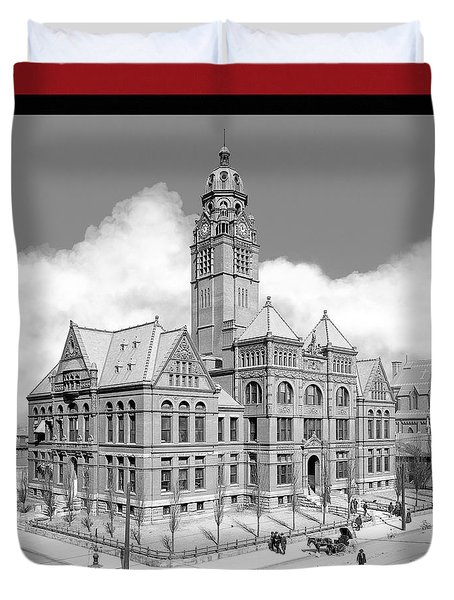 Old Jefferson County Courthouse - Birmingham Duvet Cover