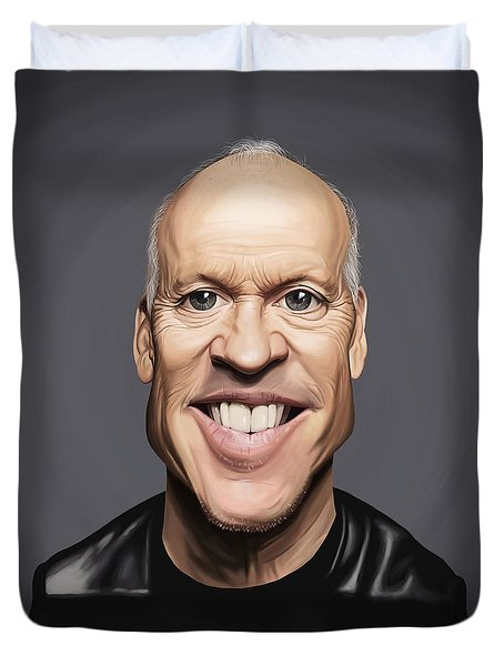 Celebrity Sunday - Michael Keaton Duvet Cover