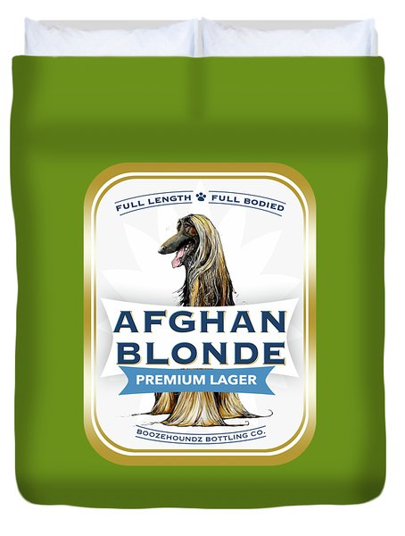 Afghan Blonde Premium Lager Duvet Cover