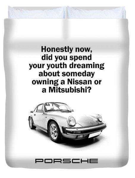 Dreaming Of A Porsche Duvet Cover