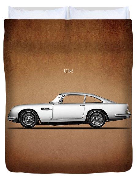 The Aston Martin Db5 Duvet Cover