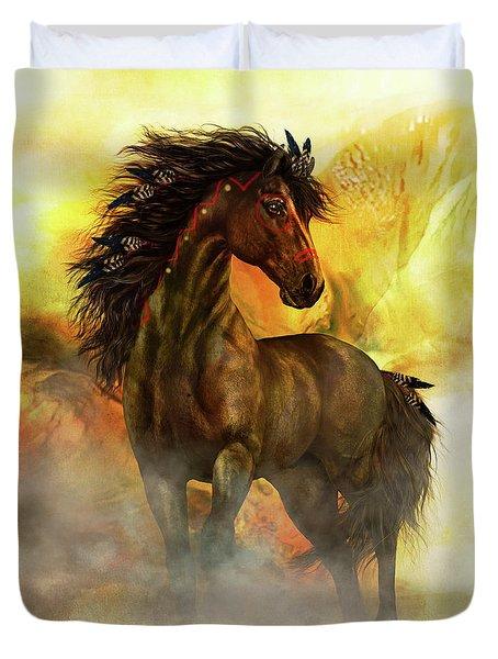 Chitto Spirit Horse Duvet Cover