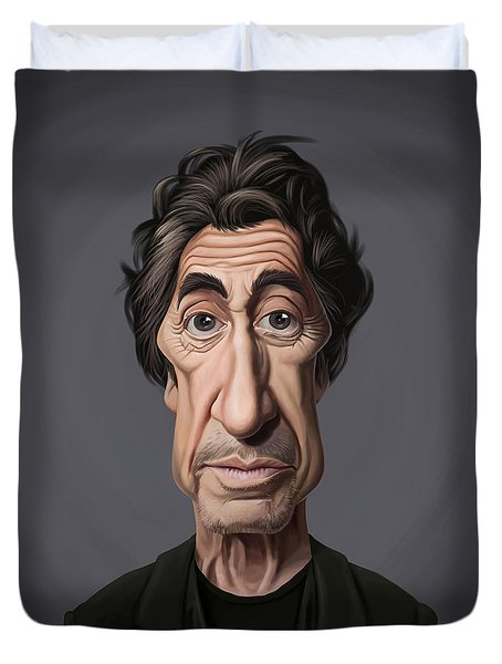 Celebrity Sunday - Al Pacino Duvet Cover